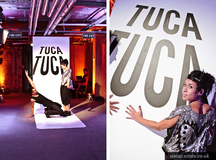 Tuca Tuca - Gorilla Perfume gallery event London