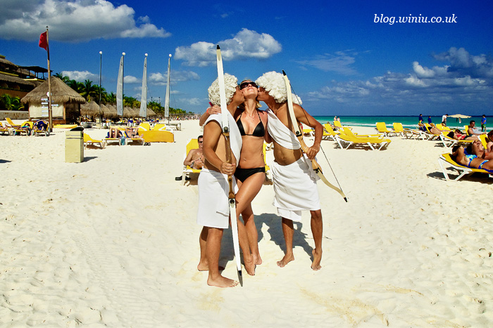 iberostar tucan beach valentine day with amors