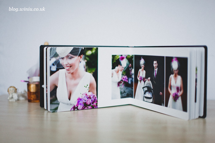 bespoke wedding album hampshire